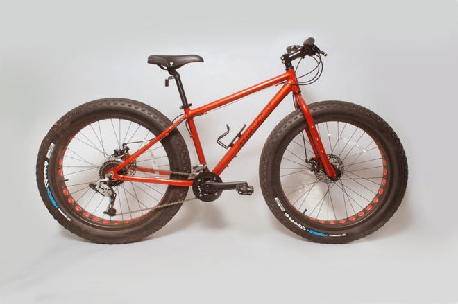 The Berwick Library Association is holding a drawing to win a choice of one of two bikes. The bike shown above is a custom-built Fat Bke with an alloy 6061 frame. Jerry Bike Barn in Berwick is donating the bike for the fundraiser.