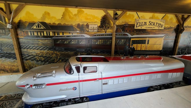 Visitors are invited to join the Community Foundation of Ellis and the Ellis Railroad Museum for a Chamber Ribbon Cutting on Saturday to reveal the restored miniature train.