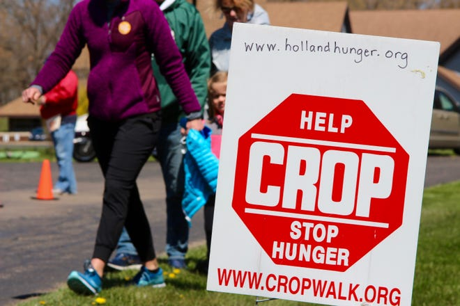 The Holland Area Hunger Coalition held its annual Holland Area CROP Hunger Walk Saturday and Sunday, April 24-25, at Beechwood Church in Park Township.