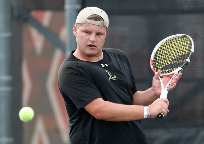 Lubbock High sophomore Harrison Bennett, who won the Region I-5A singles title with four wins in straight sets, begins play Thursday at the state tournament in San Antonio.