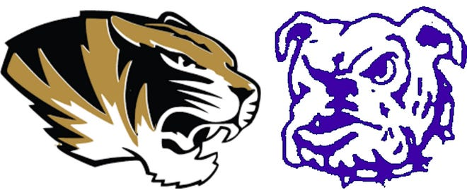 Marceline Tigers and Brookfield Bulldogs
