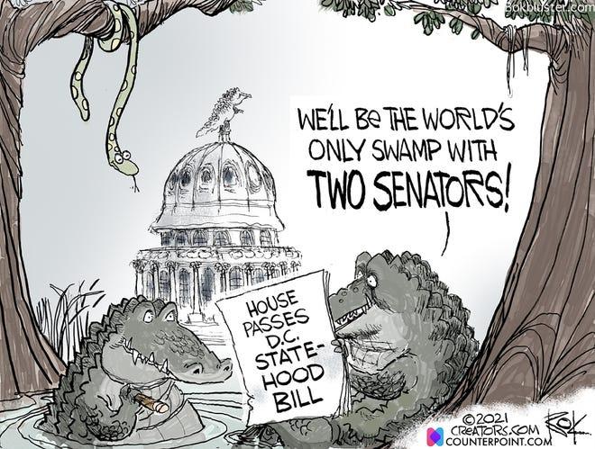 Today's editorial cartoon (April 27, 2021)