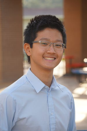 Andy Shar, 15, a Vanguard High student, was named a National Merit Scholarship Program scholar. [Marion County Public Schools photo]
