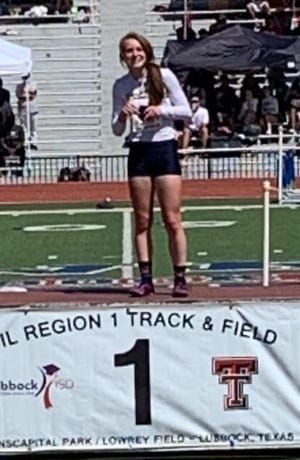 Stephenville High School's Victoria Cameron was the Regional Champion in the 100-meter dash and 200-meter dash to be a double state qualifier after the regional meet on Saturday in Lubbock.
