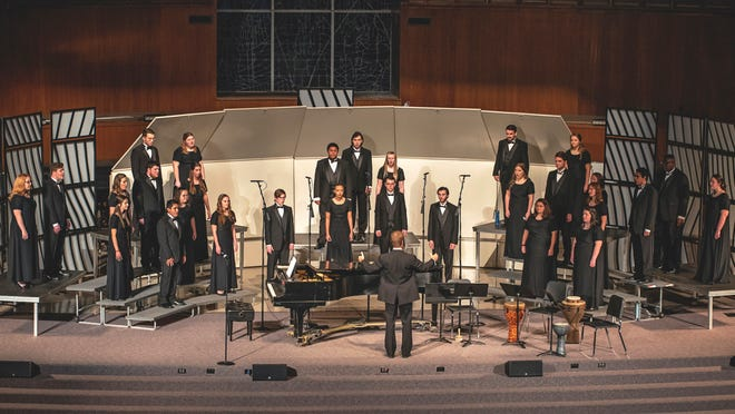 The University Chorale, the mixed chorus at OBU, will perform during their spring concert Tuesday evening, April 27.