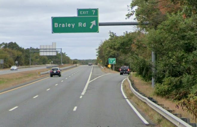19-year-old Cameron Rodrigues was killed Saturday when his car crashed on Route 140 North near the Braley Road exit.