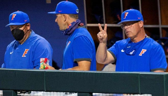 Florida coach Kevin O'Sullivan and his No. 14 Gators host No. 2 Vanderbilt for a three-game series starting Friday.