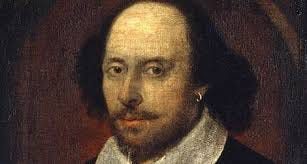 """The """"Chandos Portrait"""" of Shakespeare, dating to c.1600 and one of only two that may have been painted from life, is thought to be the work of the playwright's """"intimate friend"""" John Taylor of the Painter-Stainers' Co. (though it may not show Shakespeare at all)."""