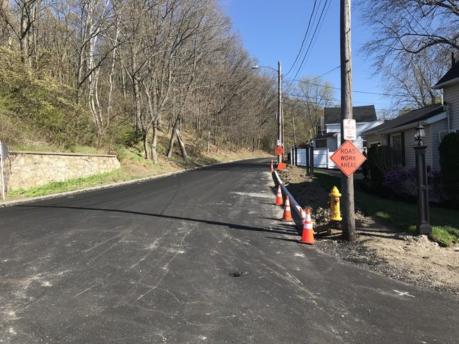 Roadway improvements on North Street are among a series of street and sidewalk upgrades that are in the works or will be done under a $4 million bond approved by Town Council, April 20.