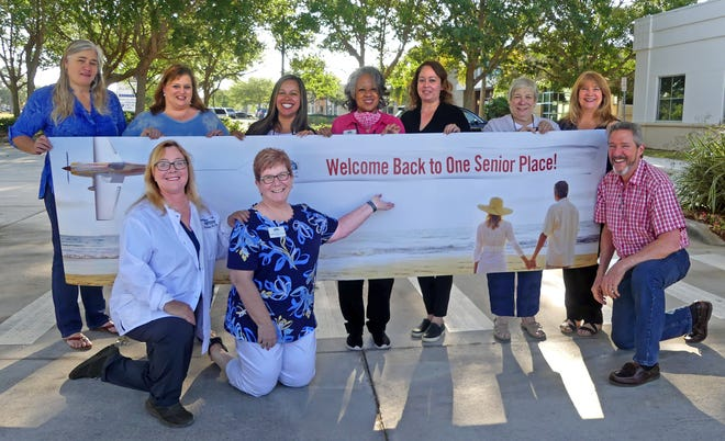The staff of One Senior Place welcomes back seniors during a week-long series of special outdoor events May 11-14 in Viera.