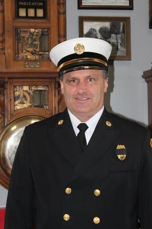 Chad Schwemley became chief of the Bucyrus Fire Department in February 2021.