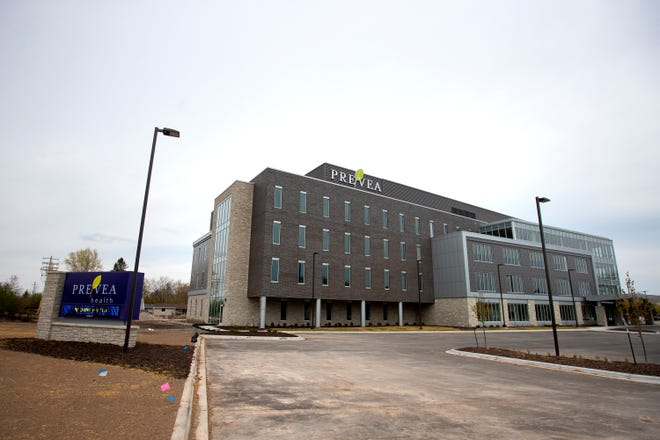 The new Prevea St. Mary's Health Center, 1860 Shawano Ave., in Green Bay will open May 10.