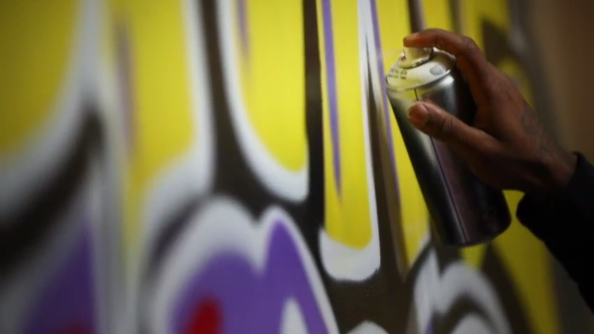 "From drug dealer to artist, inside the art of Indy's Michael ""Kwazar"" Martin"