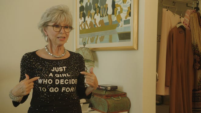 """The still-active Emmy, Grammy, Oscar and Tony winner Rita Moreno gets the tribute treatment in the documentary """"Rita Moreno: Just a Girl Who Decided to Go for It."""""""