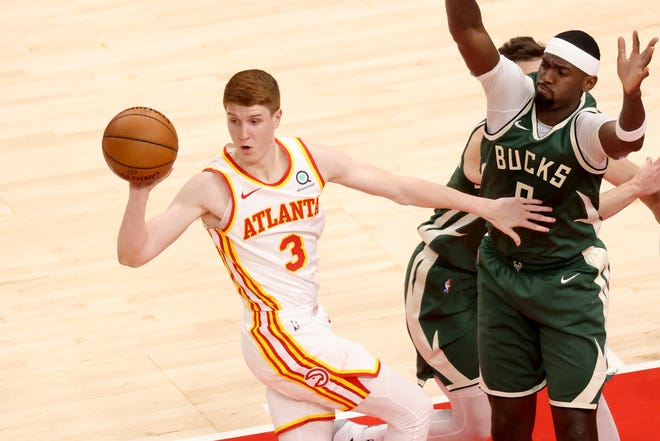 Kevin Huerter may have to be more of a scoring threat for the Atlanta Hawks with star Trae Young ailing.