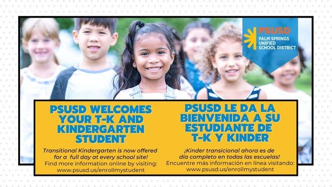 Kindergarten enrollment.