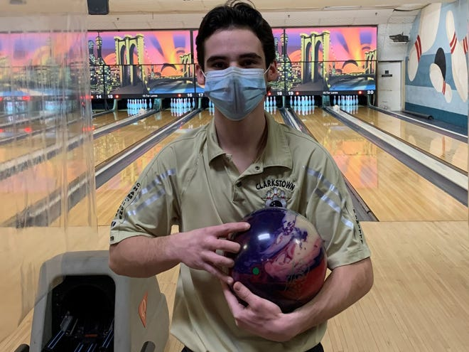 Clarkstown senior Joey DeLibertis is the 2020-21 Journal News/lohud Rockland bowler of the year.