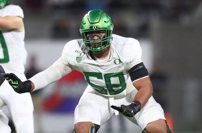 Penei Sewell opted out of the 2020 season.