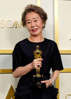 """Minari"" star Yuh-Jung Youn won best supporting actress at the Oscars."