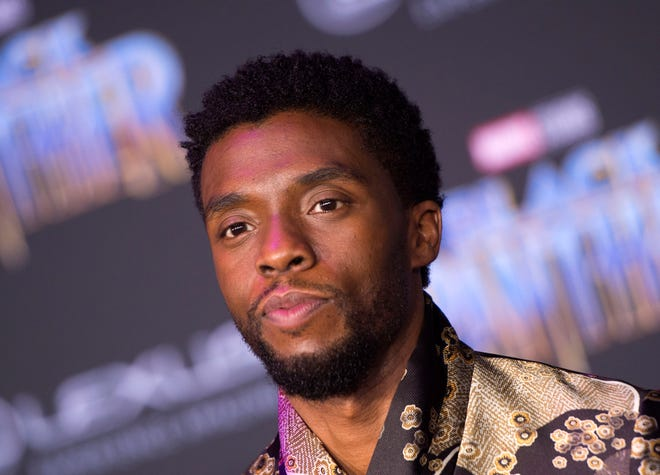 The late Chadwick Boseman died in August 2020.