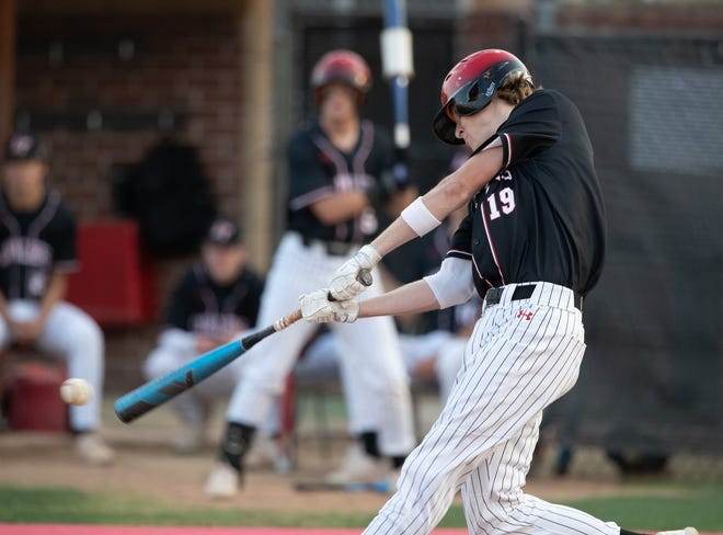 Kyle Rader of Lake Travis went 2-for-3 with a home run and six RBIsand three runs scored in a win over Akins last week as the Cavs moved closer to securing the District 26-6A title.