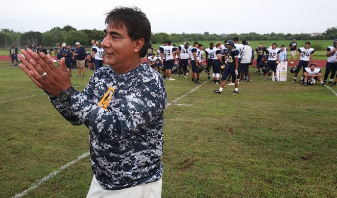Humberto Garza is stepping down as head coach and athletic coordinator at Akins. He was there 19 years, the past 10 in his current position.