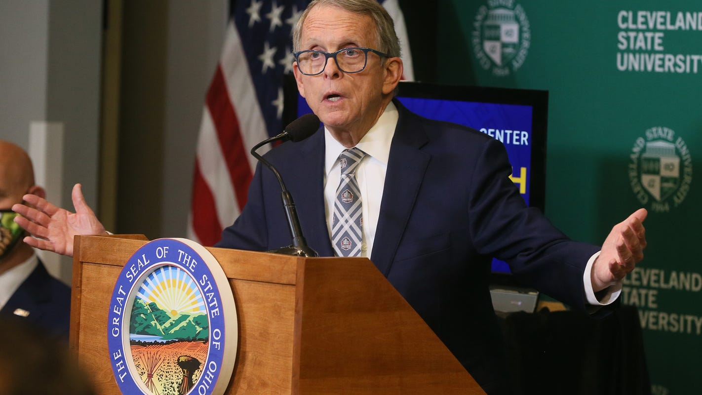 Ohio's COVID-19 vaccine lottery and mask mandate: Gov. Mike DeWine gives 2 p.m. update