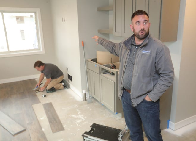 Darren Shultz, vice president for Shultz Design & Construction, says soaring prices on everything from lumber to simple building supplies like a doorknob have driven up the final tab on projects.