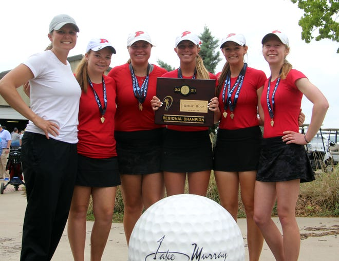 The Lady Indians shot 321 on Tuesday to take first place during a 3A Regional at Lake Murray Golf Course.