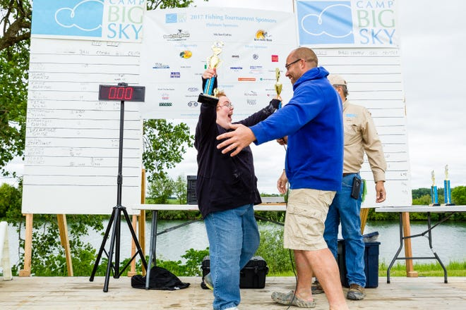 The Camp Big Sky Tournament pairs individuals with disabilities with experienced tournament fisherman in a Bass Masters style competition that provides a memorable experience.