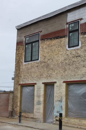 The northwest corner of the former bunny wall has some issues including crumbling bricks. Cheboygan City Manager Tom Eustice made the decision for the city to pay for the repairs to that portion of the wall, so it is no longer crumbling.