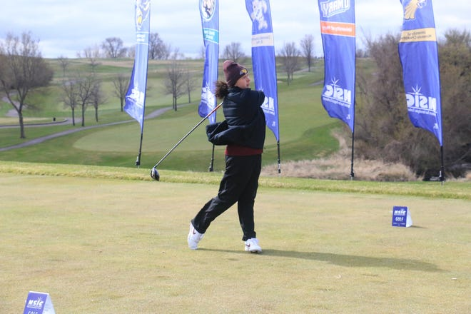 Peyton Hennen and the UMC women's golf team finished 11th at the NSIC Championship this weekend.