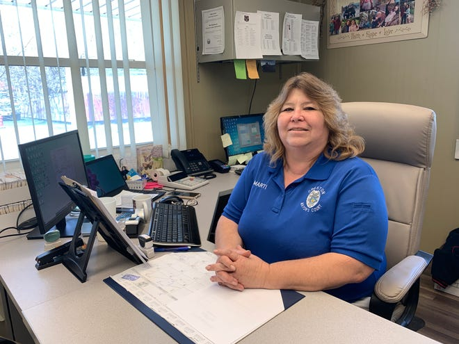 Marti McCord will retain her duties as mayor's court clerk and add the responsibilities of water/sewer clerk starting on May 3.