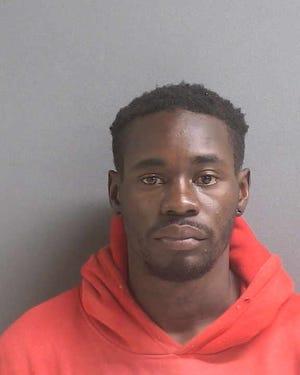 Daytona Beach police said Malik Irving attacked two women visiting Daytona Beach, hitting one with with a brick.