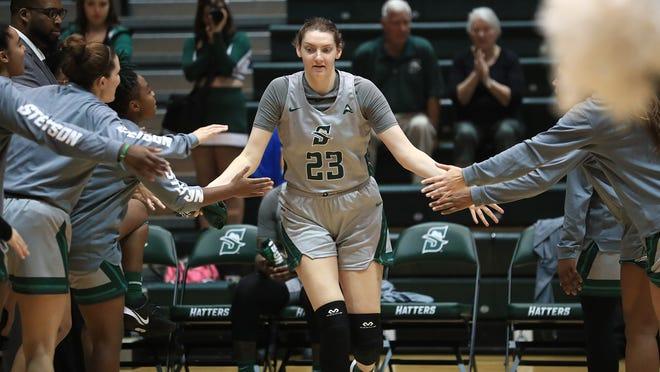 Megan Vincent, Stetson women's basketball, 2020-21.