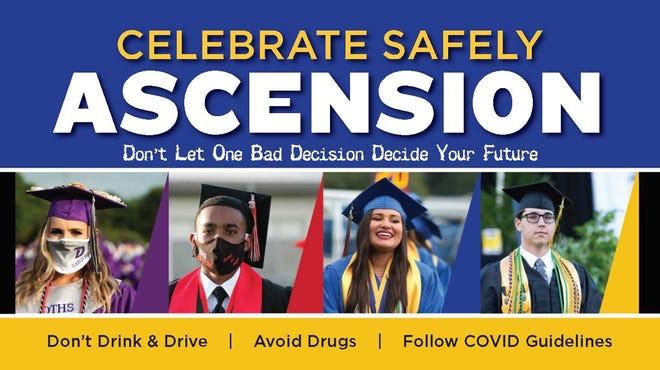 Ascension Parish Public Schools has begun a safety campaign ahead of graduation ceremonies.