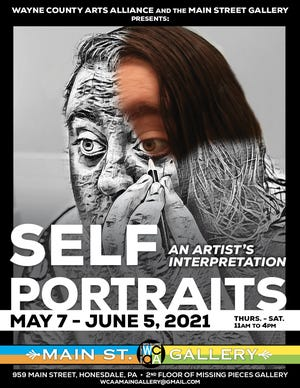 The exhibit opens on May 7th through June 5th at their Main Street Gallery located at 959 Main Street (upstairs from Missing Pieces) in Honesdale, PA.