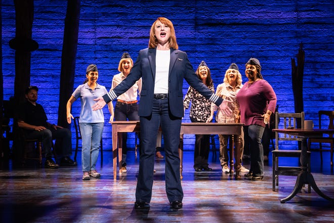 """""""Come from Away,"""" which tells the story of passengers stranded in a small town in the wake of the 9/11 attacks, comes to Jacksonville in December."""