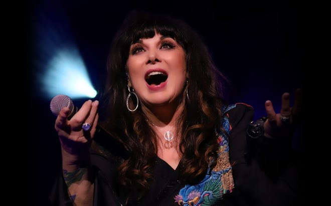 Ann Wilson steps away from her band, Heart, for a solo show this summer at the St. Augustine Amphitheatre.