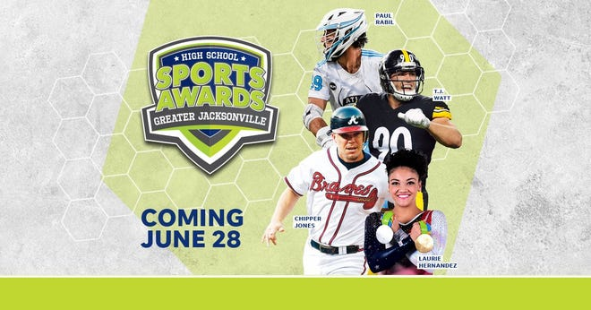 Chipper Jones, T.J. Watt, Laurie Hernandez, Paul Rabil, join the growing list of legendary athletes presenting at the Jacksonville High School Sports Awards.