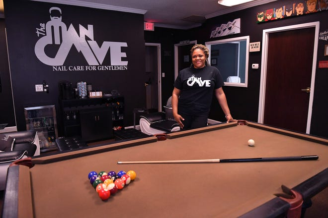 Shana Soberanis opened The Man Cave Nailcare for Gentlemen on April 14. The nail salon is located at 2099 S. Pine Street in Spartanburg.