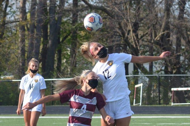 The Holland Christian girls soccer team hosted Hamilton on Monday, April 26.