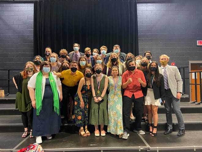 """Lubbock High's One-Act Play team qualified to compete at state with its performance of """"The Sweet Science of Bruising."""""""