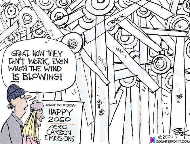 Today's editorial cartoon (April 28, 2021)