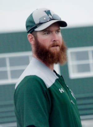 Westran baseball coach Tyler Tanner