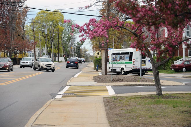 Union Avenue at Lincoln Street in Framingham, April 27, 2021.