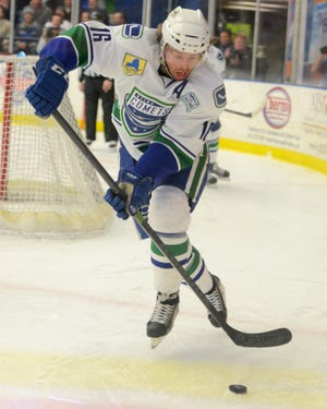 Former Utica Comets captain Cal O'Reilly reached 500 career assists in the American Hockey on Monday while playing for Lehigh Valley. He still holds the Comets record for single-season assists with 51.