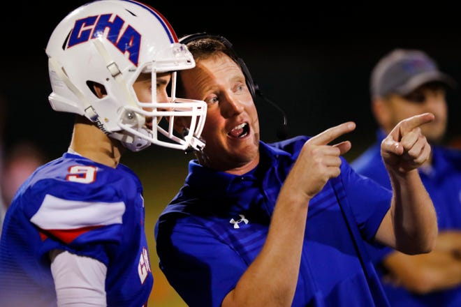 CHA head coach Tony Merrell stepped down earlier this spring after seven years leading the Crusader football program.