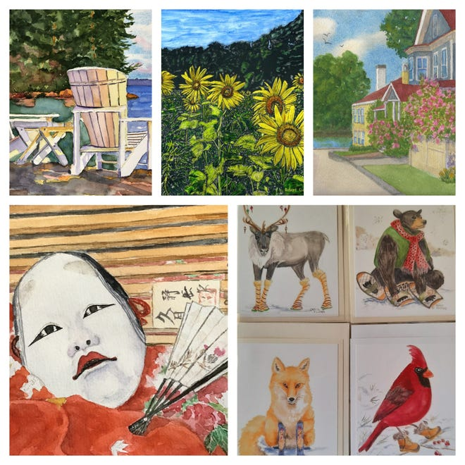The Franklin Gallery at RiverStones Custom Framing, 33 N. Main Street in Rochester, will host an exhibit during the month of May calledTen Ladies and a Gentlemen.