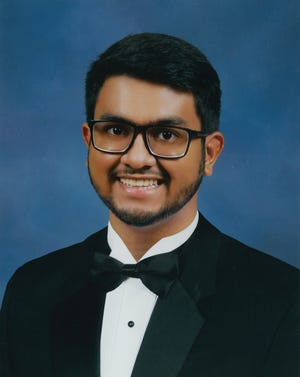 Sadat Uddin, 2021 valedictorian at Suncoast High School in Riviera Beach.